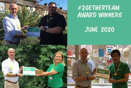#2getherTeam Award Winners in June