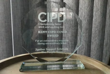 Kent CIPD Covid Award for the People Team