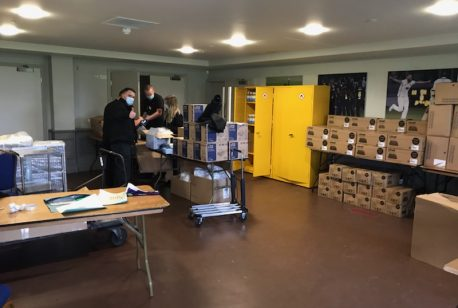 2gether help to set up a covid vaccination hub for healthcare workers
