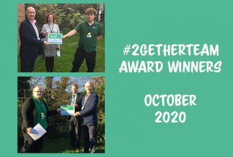 #2gether Team Award Winners in October